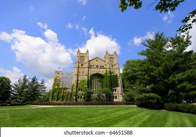 Law school library in University of Michigan
