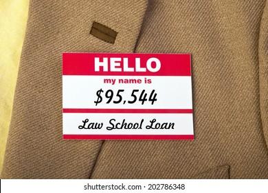 Law School student loan.