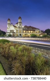 Lawang Sewu literal translation is thousand doors. It is an old preserved office building compound. In early 2010's, the compound is being renovated and open for public for tourism. 29 June 2017