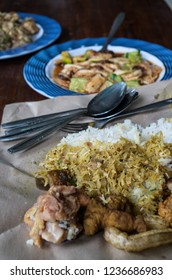 LAWAR and RUJAK - Indonesian dishes, vertical.