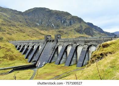 Lawers Dam, Ben Lawers, Scotland.