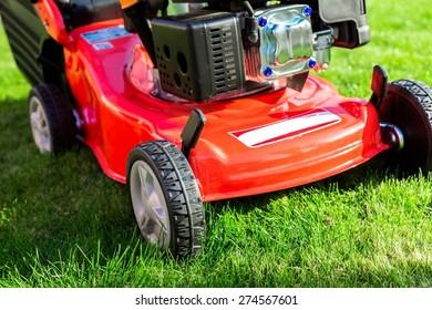 Lawn Mower, Gardening, Mowing.