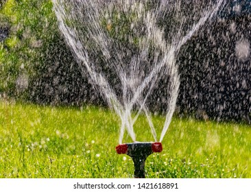 Lawn Sprinklers Images Stock Photos Vectors Shutterstock