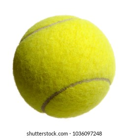 Lawn Tennis Ball Isolated on White