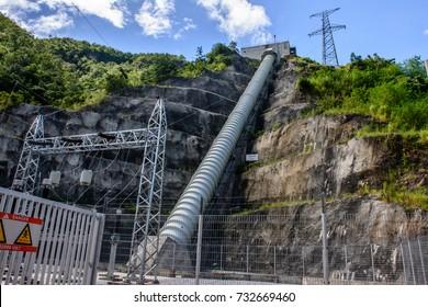 Lawpita hydro power station, Kayah State, Myanmar, Oct-2017