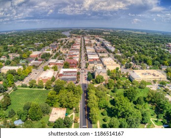 Lawrence is a Town in Eastern Kansas with a State University
