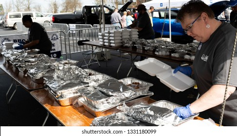 Lawrenceville, GA / USA – March 2 2019 – Sip & Swine BBQ Festival