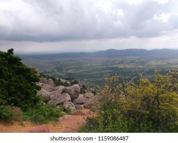Lawton Oklahoma mountains