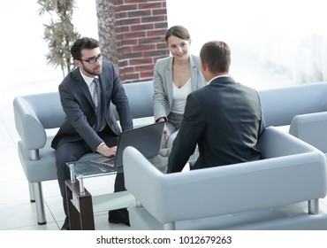 lawyer carries out consultation with their clients