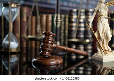 Lawyer concept background. Law and justice.