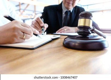 lawyer  judge  or Auction show  gavel in the room or office
