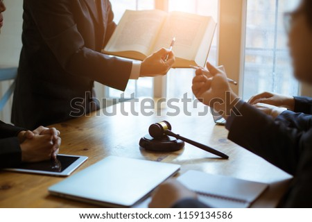 Lawyers consulted on various