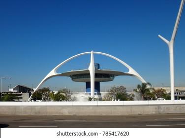 LAX airport building, California, USA.
