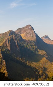 Layer of mountain, Thailand