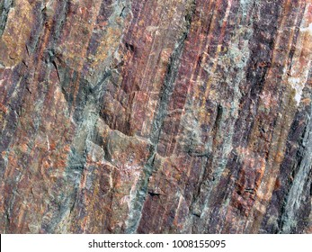 layers of iron ore