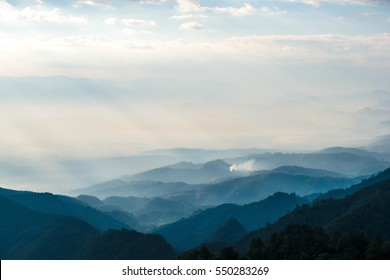 layers of the mountain