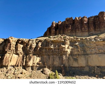 Layers of Sediment in Colorado Rock Formations
