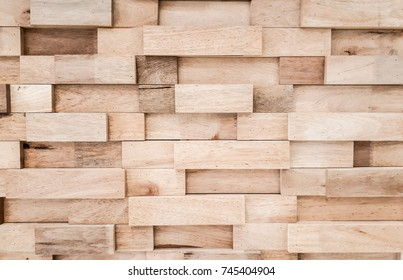 Layers of wood plank wall background