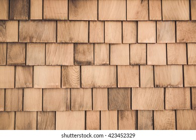 layers of wood plank wall for deceration and design