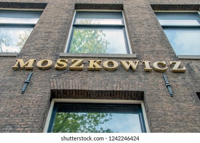 Laywers Office Moszkowicz At Amsterdam The Netherlands 2018