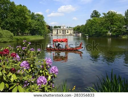 Lazienki Palace Lazienki Park Lazienki Krolewskie Stock Photo Edit