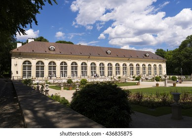 Lazienki park - Old orangery - Royal Baths Park in Warsaw