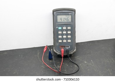 An LCR meter is a type of electronic test equipment used to measure the inductance (L), capacitance (C), and resistance (R) of an electronic component