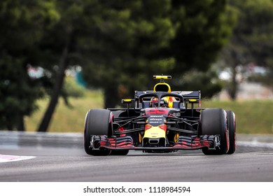 Le Castellet, France. 23/06/2018. Qualifying of Grand Prix of France. F1 World Championship 2018. Max Verstappen, Red Bull.