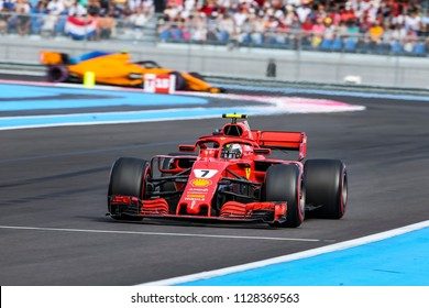 Le Castellet, France. 23/06/2018. Qualifying of Grand Prix of France. F1 World Championship 2018. Max Verstappen, Red Bull.