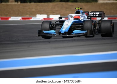 LE CASTELLET, FRANCE - JUNE 23, 2019: Robert Kubica, Poland competes for ROKiT Williams Racing in the Formula 1 French Grand Prix.
