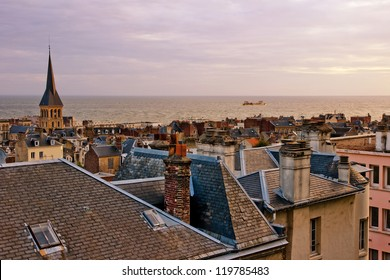 Le Havre city, France. View from a height.