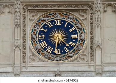 Le Louvre's Clock