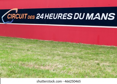 Le Mans, France - June 27, 2016: The 24 Hours of Le Mans is the world's oldest active sports car race in endurance racing, held annually since 1923 near the town of Le Mans, France