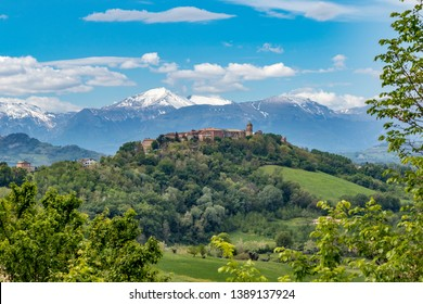 Le Marche Region of Italy, Falerone and the Sibillini Mountains