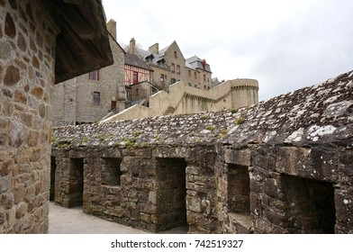 Le Mont-Saint-Michel is an island commune in Normandy, France. One of France's most recognizable landmarks, visited by more than 3 million people each year