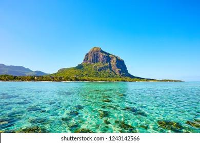 Le Morne Brabant, Mauritius, Indian ocean
