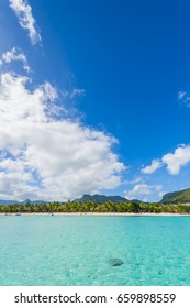 Le Morne Brabant - Mauritius Tropical Island beach and mountain
