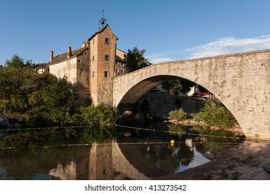 Le Pont de Montvert, Lozere, France