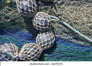 lead balls fishing trawler net marine bottom destructive tackle