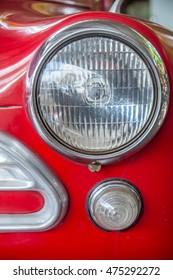 lead light of car