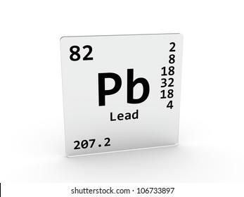 Lead chemical element periodic table symbol stock illustration lead symbol pb element of the periodic table urtaz Images