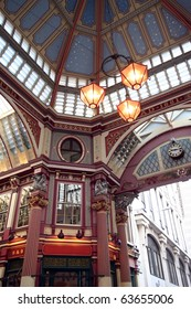 Leadenhall Market, Gracechurch Street,  London England