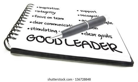 Leadership chart notes