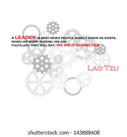 Leadership quote by Lao Tzu