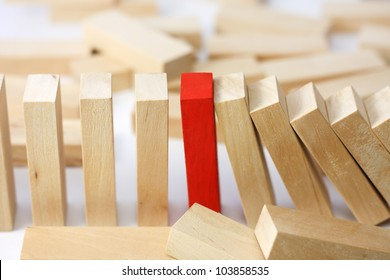 Leadership and team abstract business concept
