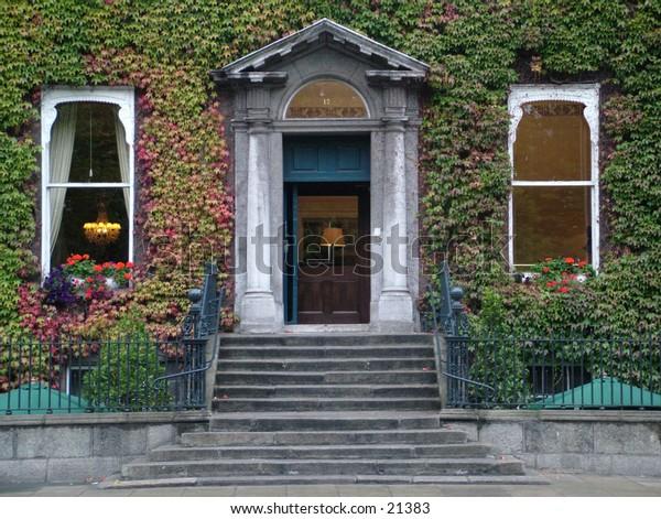 Leafy house on Stephens Green, Dublin