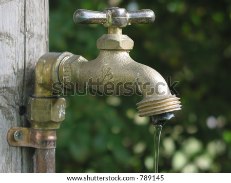 Charmant A Leaky Garden Faucet.