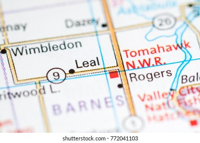 Leal. North Dakota. USA
