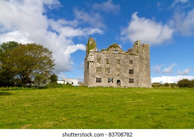 Leamaneh castle in Burren, Co. Clare - Ireland