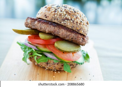 Healthy Beef Burger High Res Stock Images Shutterstock